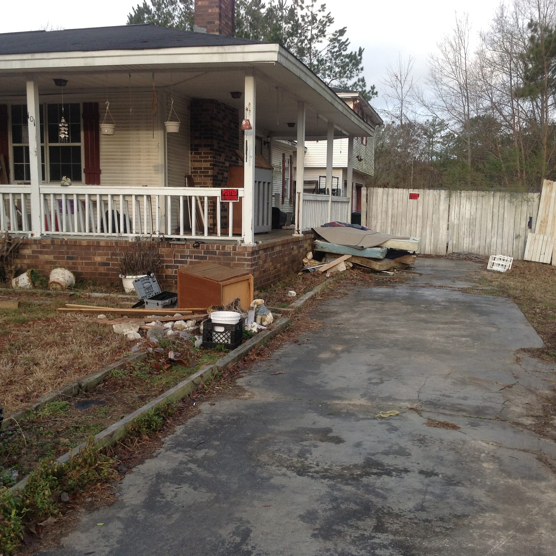 Debris removal services landscaping clearing trimming for Landscaping rocks charleston sc